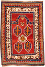 A Kazak rug Caucasus size approximately 3ft. 6in. x 5ft. 11in.