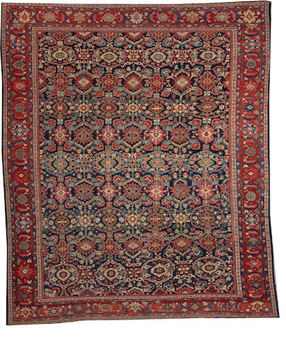 A Sultanabad carpet Central Persia size approximately 10ft. 7in. x 12ft. 2in.