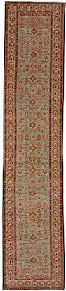 A Malayer runner Central Persia size approximately 3ft. 4in. x 16ft. 2in.