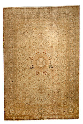 A Tabriz carpet Northwest Persia size approximately 8ft. x 11ft. 10in.