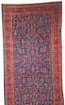 A Manchester Kashan carpet Central Persia size approximately 11ft. 9in. x 22ft. 2in.