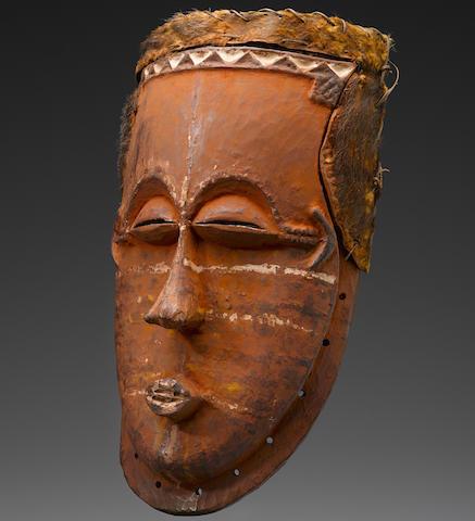 Lele Mask, Democratic Republic of the Congo