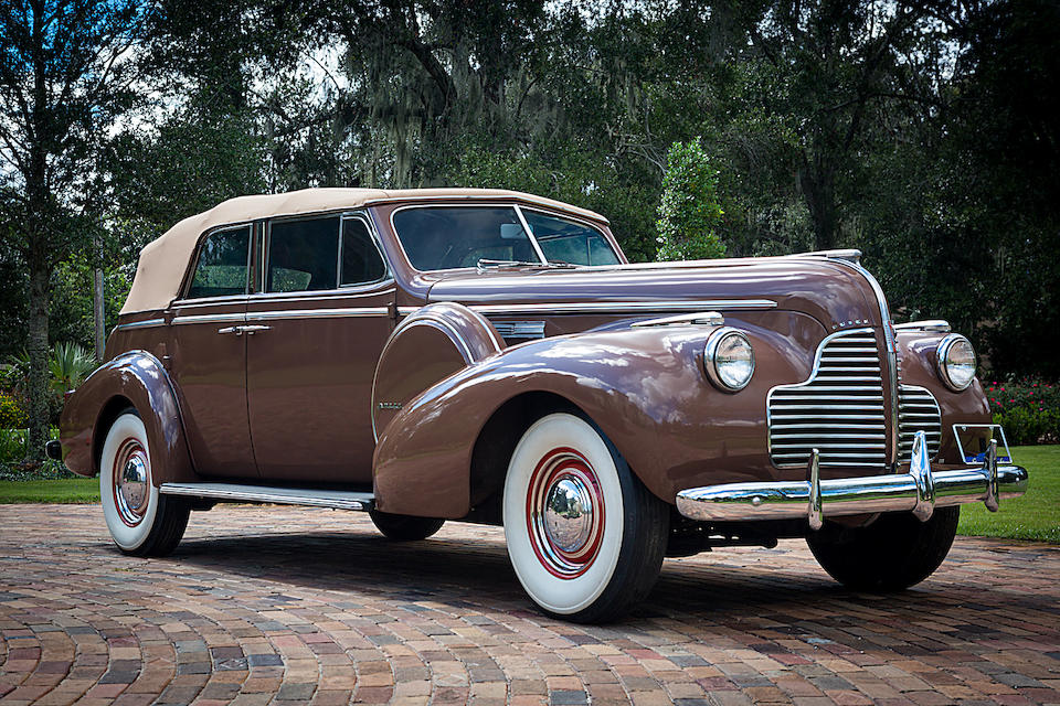 The 1940 Buick Phaeton automobile from Casablanca