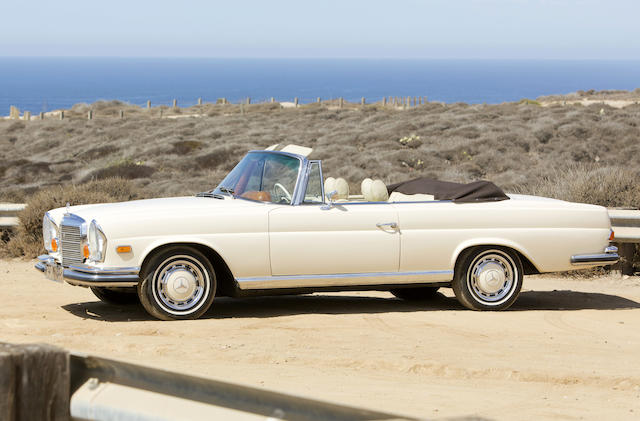 <b>1970 Mercedes-Benz 280SE 3.5 Cabriolet  </b><br />Chassis no. 111027.12.002505 <br />Engine no. 116980.12.002300