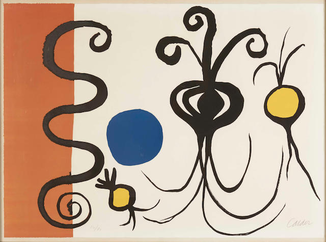 Alexander Calder (American, 1898-1976); Untitled;
