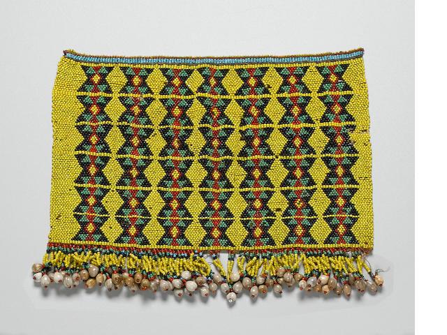 Zulu Young Woman's Cache-Sexe, South Africa