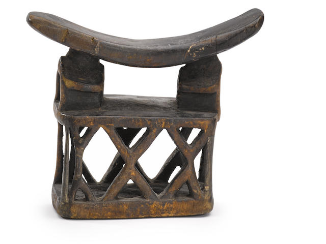 Yaka Headrest, Democratic Republic of the Congo