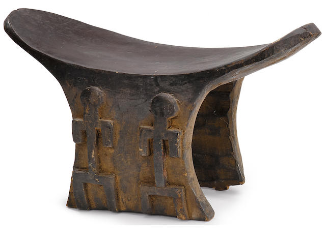 Bamana or Dogon Headrest, Mali