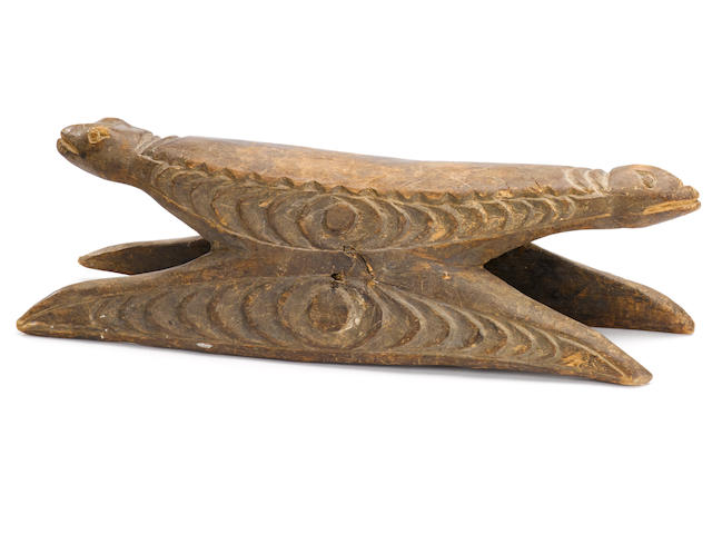 Sepik River Headrest, Papua New Guinea