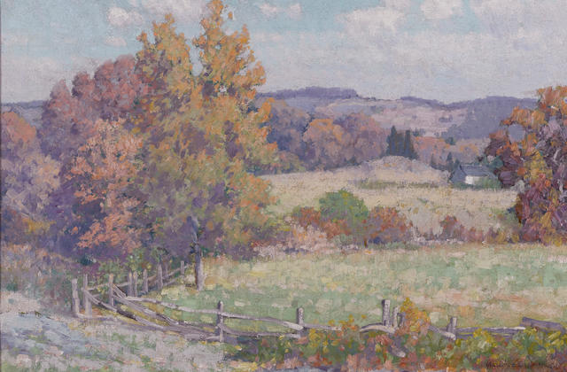 Maurice Braun (American, 1877-1941) San Diego hills 16 x 24in