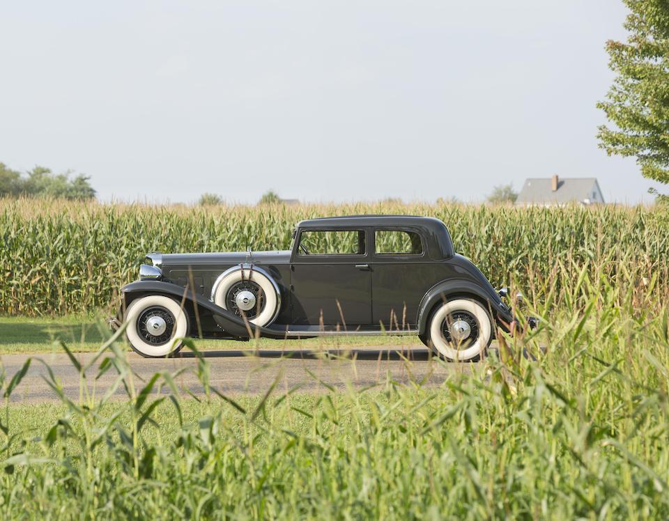 <b>1932 Marmon V16 Victoria Coupe  </b><br />Chassis no. 16143718 <br />Engine no. 16700