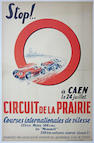 Two 1960s era racing posters,