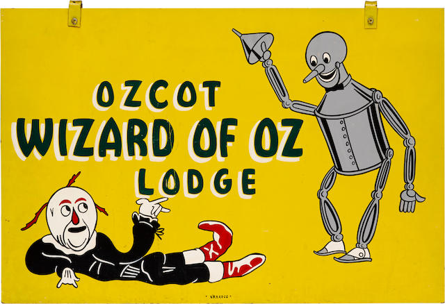 "[BAUM, L. FRANK. 1856-1919.] ""Ozcot Wizard of Oz Lodge,"""