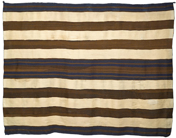 A Navajo Ute-style first phase chief's blanket