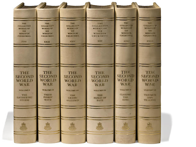 CHURCHILL, WINSTON LEONARD SPENCER, SIR. 1874-1965. Collected Works  [& Collected Essays].[London]: Library of Imperial History, [1973].
