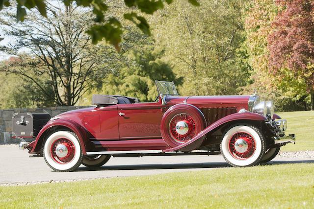 <b>1931 Studebaker President Model 80 Four Seasons Roadster  </b><br />Chassis no. 7033484