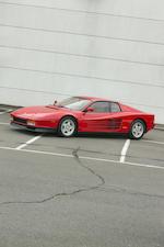 <b>1990 Ferrari Testarossa  </b><br />VIN. ZFFSG17A1L0087096<br />Engine no. 24658