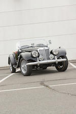 <b>1954 MG TF  </b><br />Chassis no. HDA46/1787 <br />Engine no. XPAG/TF/31731