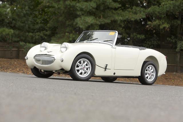 "<b>1960 Austin-Healey ""Bugeye"" Sprite MK I  </B><br />Chassis no. AN5L 31663 <br />Engine no. 12CJ/DA/H 34840"