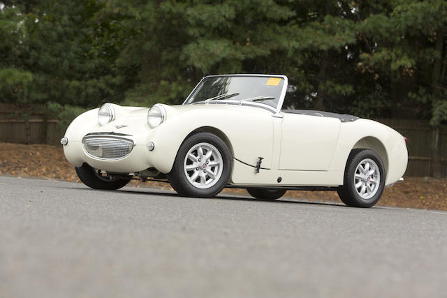 "<b>1960 Austin-Healey ""Bugeye"" Sprite MK I  </B><br />Chassis no. AN5L 31663 <br />Engine no. 12CJ/DA/H 34840"