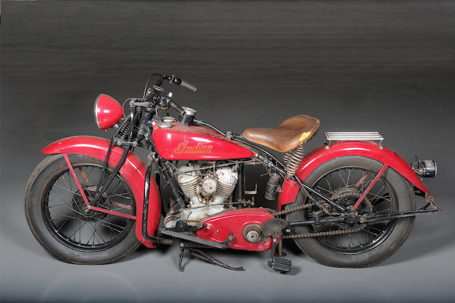 c.1938 Indian Pony Scout  Engine no. FC576