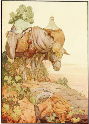 DETMOLD, EDWARD, illustrator. The Fables of Aesop. London: Hodder & Stoughton, 1909.