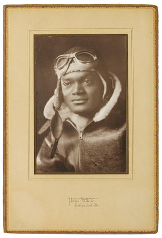 TUSKEGEE AIRMAN. Archive of material related to the military service of Tuskegee airman Joseph Claborn Curry (1915-1959), including: