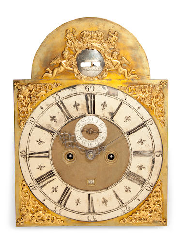 A fine inlaid mahogany long case clock the movement by Peter Stretch, Philadelphiacirca 1720 -30, the case circa 1790-1810