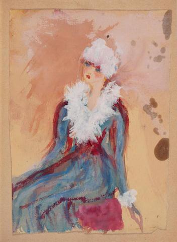 ODOEVTSEVA, IRINA VLADIMIROVNA [IRAIDKA HEINIKE]. 1895-1990. Kontrapunkt [Counterpoint].  Paris: Rifma, 1951.