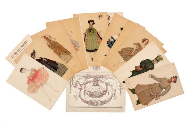BAKST, LEON. 1866-1924. Feya kukol. La Fée des poupées  [The Doll Fairy].