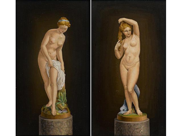 Two Italian micromosaic panels second half 20th century