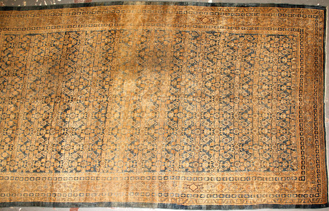 A Sultanabad carpet size approximately 9ft. 2in. x 15ft. 4in.