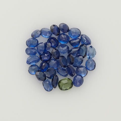 Group of Sapphires