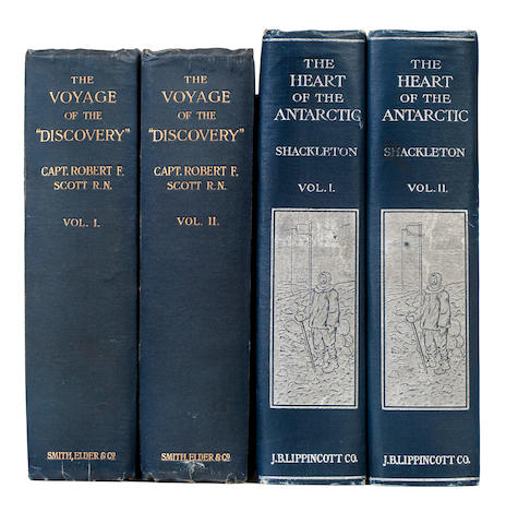 "ANTARCTIC EXPLORATION. 1. SCOTT, ROBERT F. The Voyage of the ""Discovery"". London: Smith, Elder, 1905."