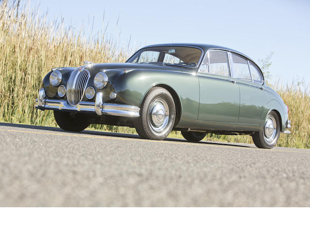 <b>1963 Jaguar MKII 3.8 Saloon  </b><br />Chassis no. P219796BW <br />Engine no. LB9192-9
