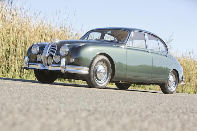 <b>1963 Jaguar MKII 3.8 Saloon  </b><br />Chassis no. P219796BW <br />Engine no. LB9192-9