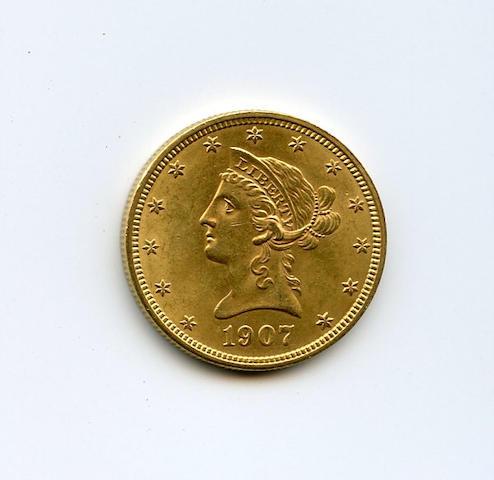 1907 Liberty $10