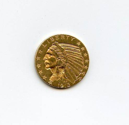 1913 $5