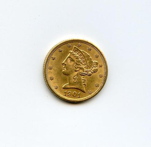 1901-S $5