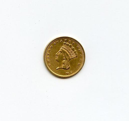 1856 Slanted 5 G$1