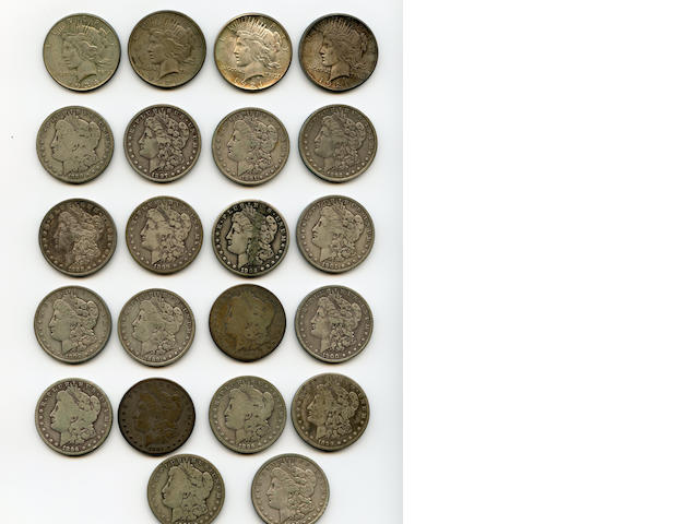 Miscellaneous Morgan and Peace Dollars