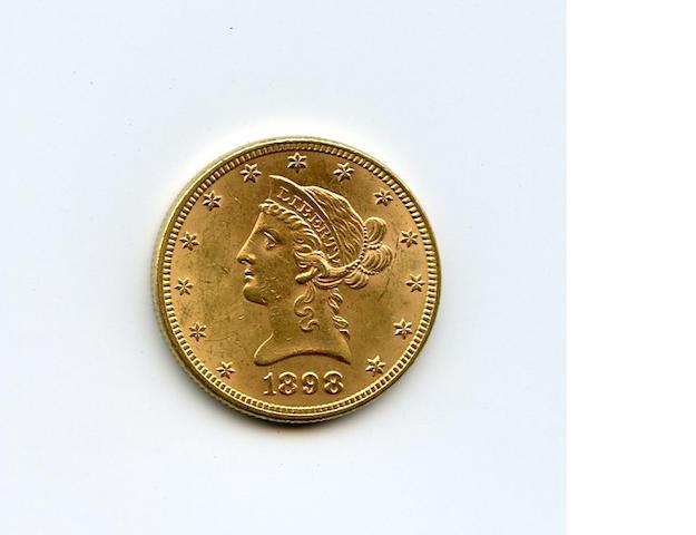1898 $10