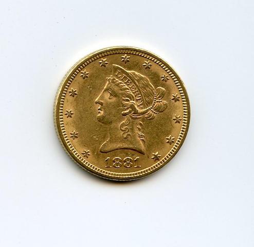 1881 $10