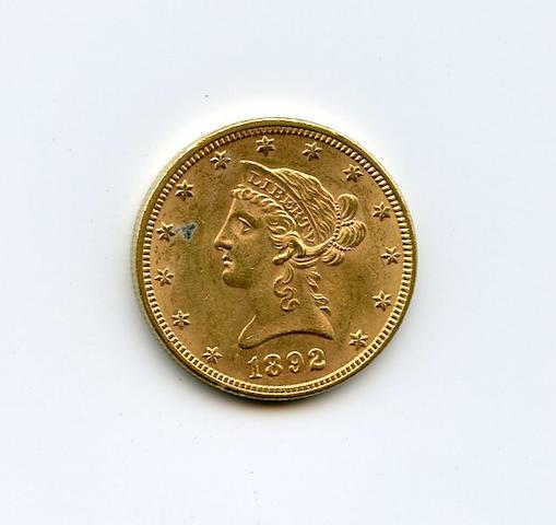 1892 $10