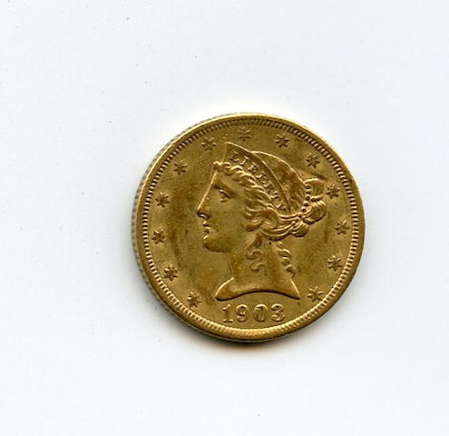 1903-S $5