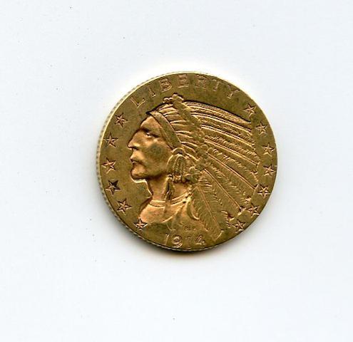 1914-D $5
