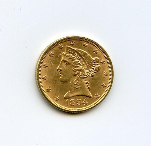 1894 $5