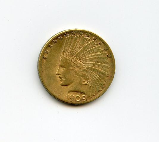 1909-S $10