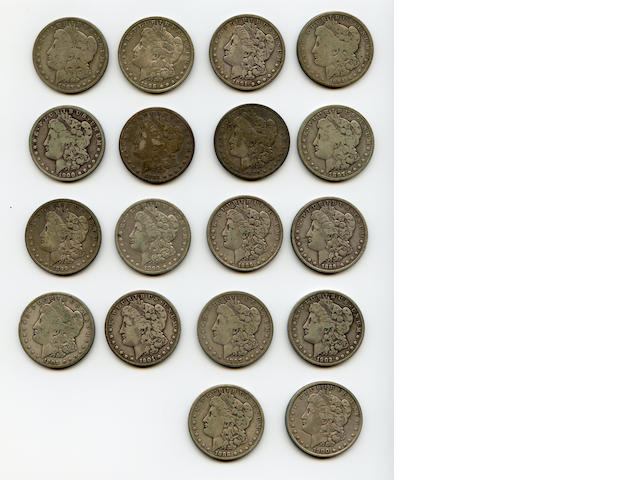Miscellaneous Morgan Dollars