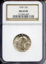 1930 25C MS65 Full Head NGC